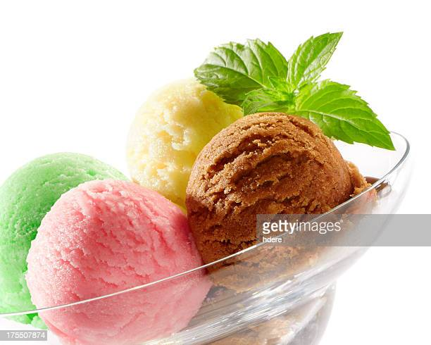 Mixed ice cream