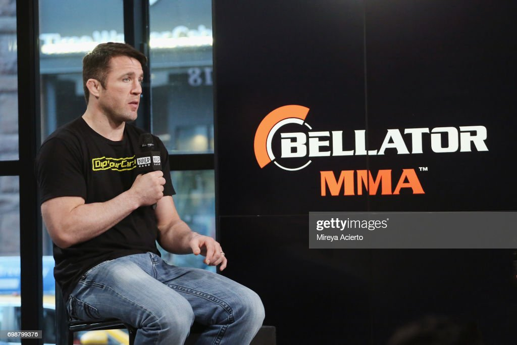 Mixed martial artist Chael Sonnen visits Build to discuss Bellator MMA at Build Studio on June 20, 2017 in New York City.
