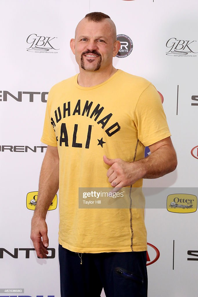 Mixed Martial Artist Chuck Liddell attends day one of the Kia Luxury Lounge presented by ZIRH at Scottsdale Center for Performing Arts on January 30...