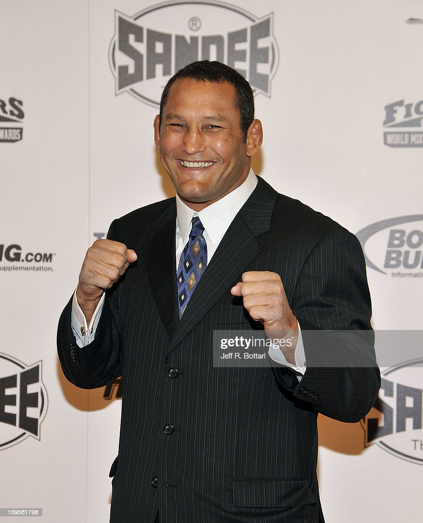 Mixed martial artist Dan Henderson arrives at the Fighters Only World Mixed Martial Arts Awards at the Hard Rock Hotel & Casino on January 11, 2013 in Las Vegas, Nevada.