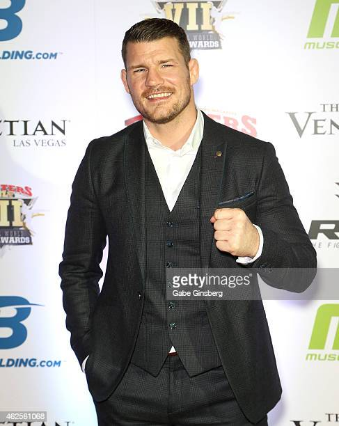 Mixed martial artist Michael Bisping arrives at the seventh annual Fighters Only World Mixed Martial Arts Awards at The Palazzo Las Vegas on January...