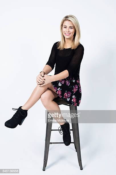 Mixed martial artist Paige VanZant is photographed for The Wrap on May 5 2016 in Los Angeles California