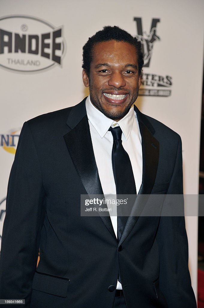 Mixed martial artist referee Herb Dean arrives at the Fighters Only World Mixed Martial Arts Awards at the Hard Rock Hotel & Casino on January 11, 2013 in Las Vegas, Nevada.