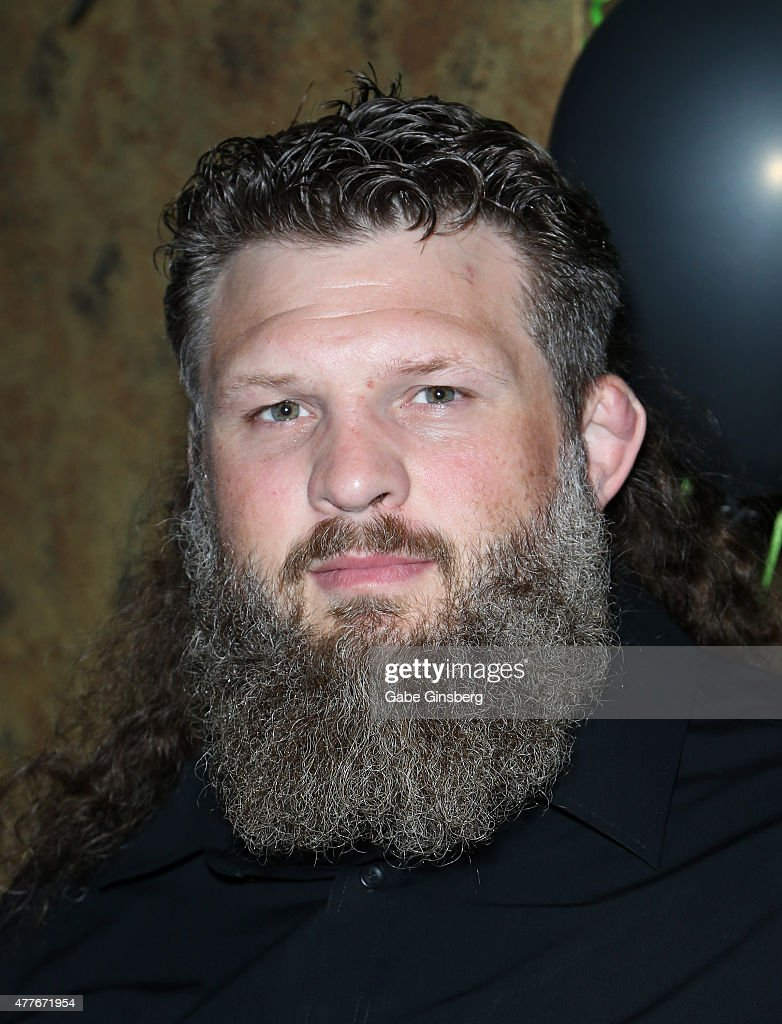 Mixed martial artist Roy 'Big Country' Nelson attends One Step Closer Foundation's event at the VooDoo Zip Line at the Rio Hotel & Casino as part of the organization's efforts to raise funds and awareness for people with cerebral palsy on June 18, 2015 in Las Vegas, Nevada.