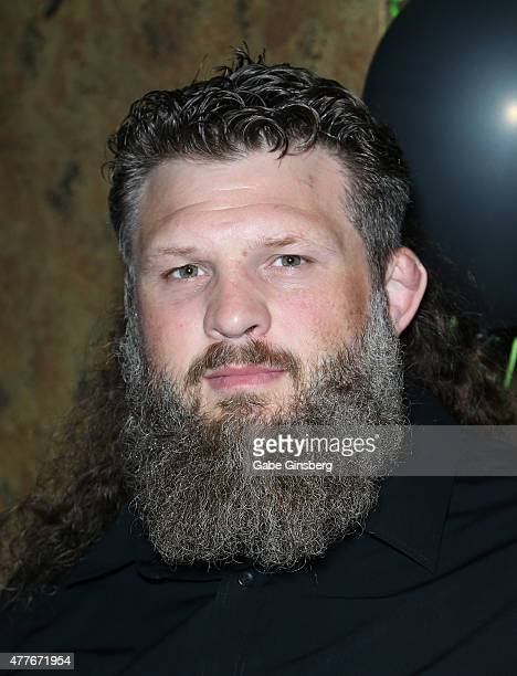 Mixed martial artist Roy 'Big Country' Nelson attends One Step Closer Foundation's event at the VooDoo Zip Line at the Rio Hotel Casino as part of...
