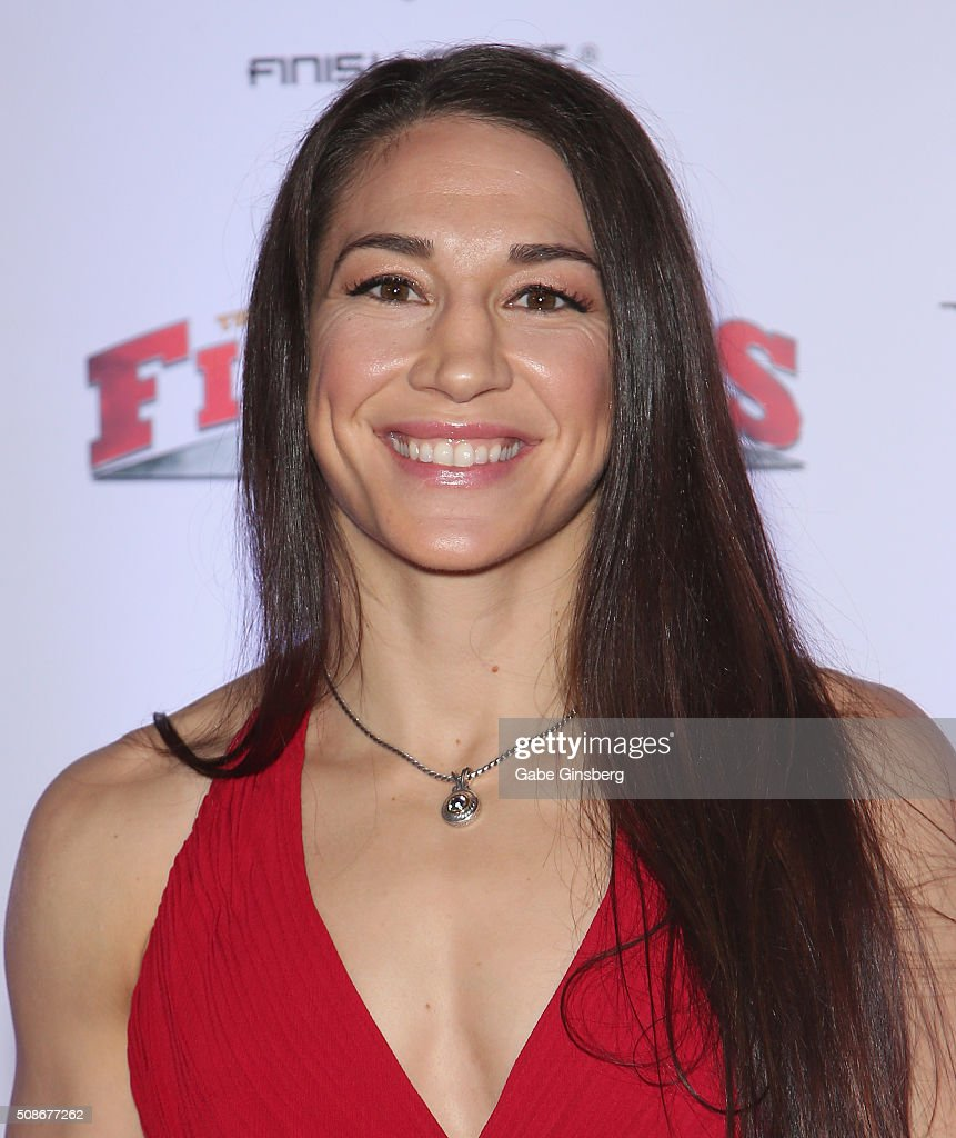 Mixed martial artist <a gi-track='captionPersonalityLinkClicked' href=/galleries/search?phrase=Sara+McMann&family=editorial&specificpeople=171852 ng-click='$event.stopPropagation()'>Sara McMann</a> attends the eighth annual Fighters Only World Mixed Martial Arts Awards at The Palazzo Las Vegas on February 5, 2016 in Las Vegas, Nevada.