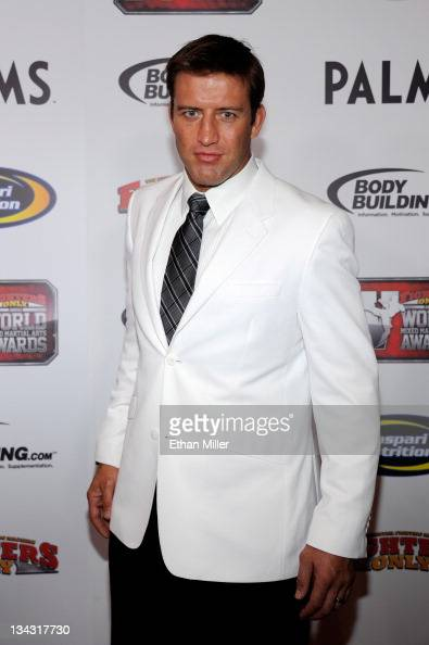 Mixed martial artist Stephan Bonnar arrives at the Fighters Only World Mixed Martial Arts Awards 2011 at the Palms Casino Resort November 30 2011 in...