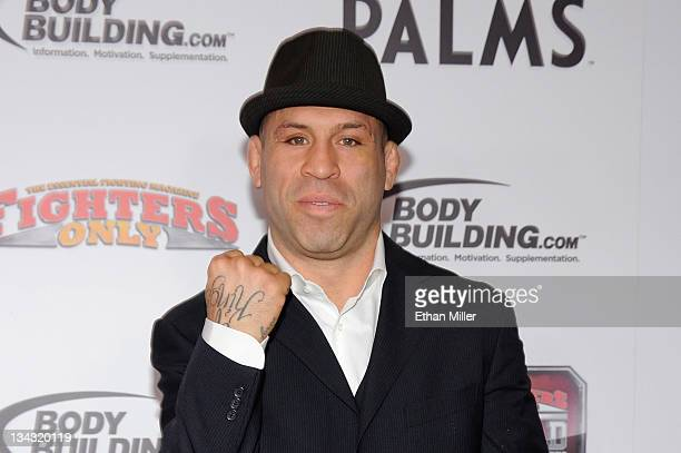 Mixed martial artist Wanderlei Silva arrives at the Fighters Only World Mixed Martial Arts Awards 2011 at the Palms Casino Resort November 30 2011 in...
