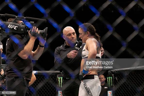Miesha stock photos and pictures getty images for Joe rogan madison square garden
