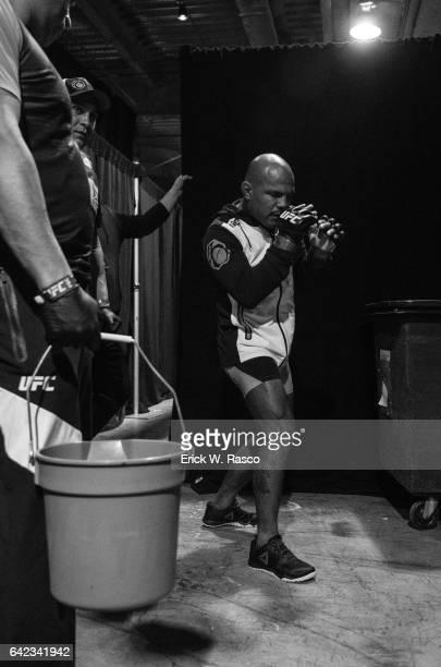 UFC 208 View of Wilson Reis before Flyweight fight vs Ulka Sasaki at Barclays Center Behind the Scenes Brooklyn NY CREDIT Erick W Rasco