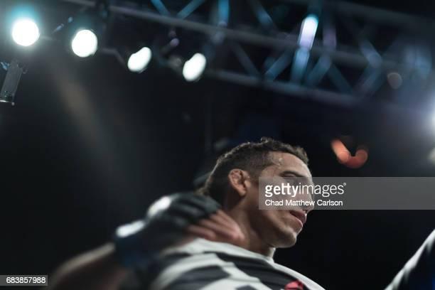UFC 210 Closeup of Charles Oliveira during match at KeyBank Center Buffalo NY CREDIT Chad Matthew Carlson