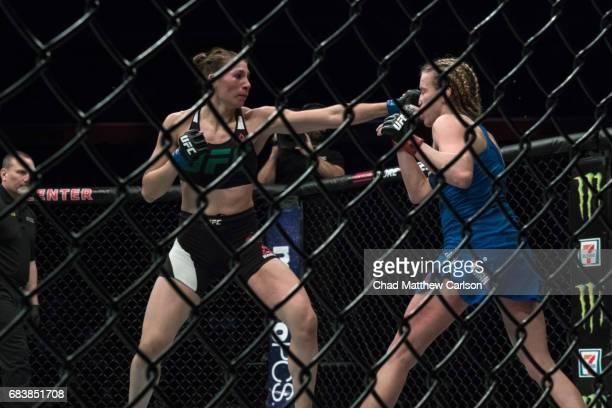 UFC 210 Irene Aldana in action vs Katlyn Chookagian at KeyBank Center Chookagian defeated Aldana by split decision Buffalo NY CREDIT Chad Matthew...
