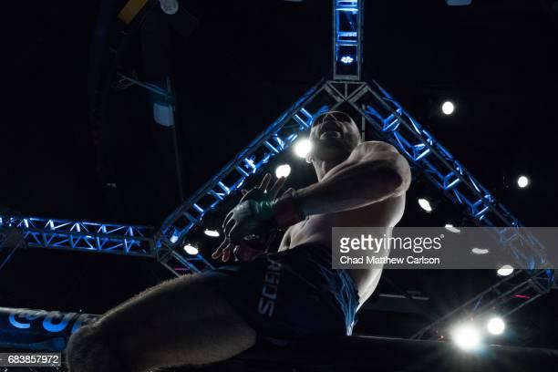 UFC 210 Shane Burgos after defeating Charles Rosa by TKO at 159 Round 3 at KeyBank Center Buffalo NY CREDIT Chad Matthew Carlson