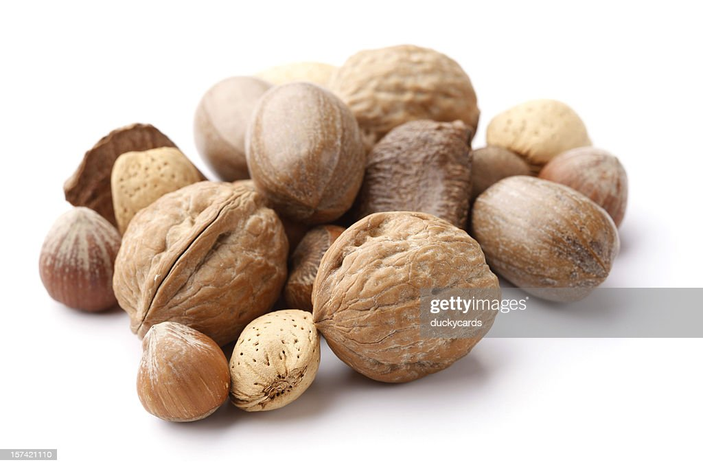 Nüsse in der Shell : Stock-Foto