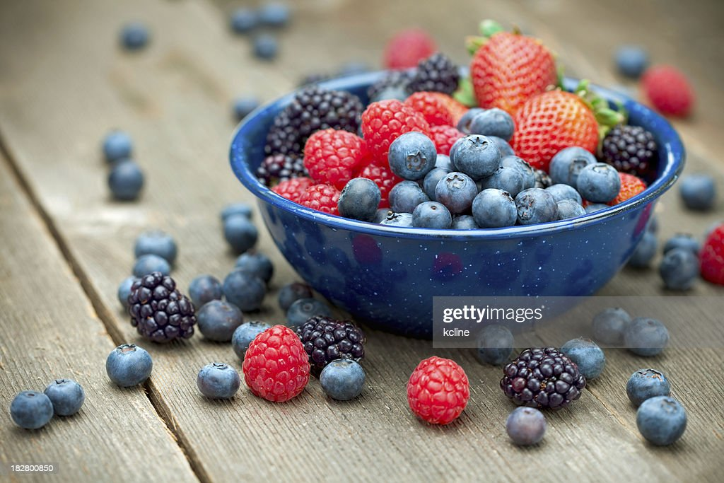 Mixed Organic Berries