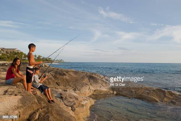 Girls fishing topless stock fotos und bilder getty images for Topless girls fishing