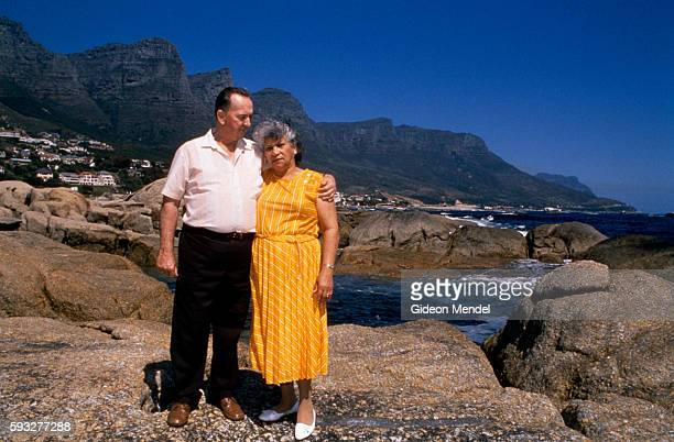 A mixed race couple who fell afoul of apartheid laws in South Africa in Camps Bay