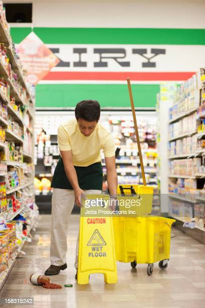 Mop And Bucket Stock Photos And Pictures Getty Images