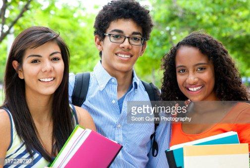 Mixed Race Students : Photo