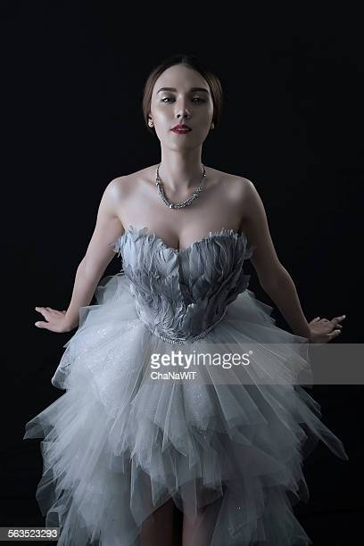Mixed race woman in well-dressed