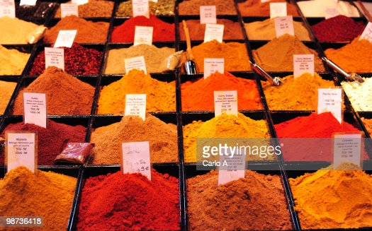 Mixed spices : Stock Photo
