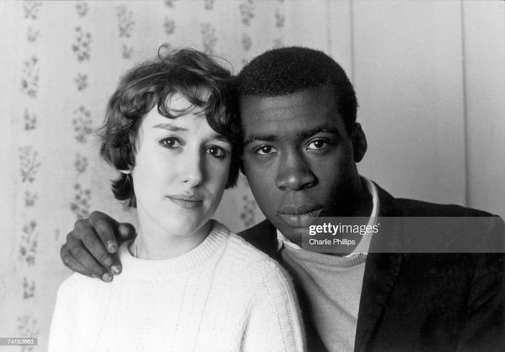 A mixed-race couple living in Notting Hill, London, 1967.