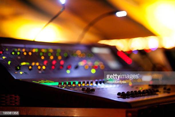 Mixing Console at concert