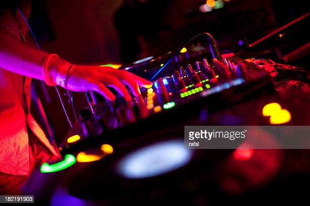 DJ mélanger sur CDJs