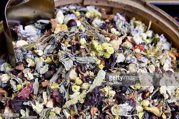 Mixt herbal tea in Grand Bazaar, Istanbul
