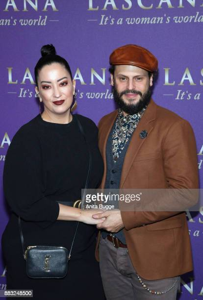 Miyabi Kawai and Manuel Cortez attend the the opening of the 'Sound of Passion' exhibition at Hotel De Rome on November 30 2017 in Berlin Germany