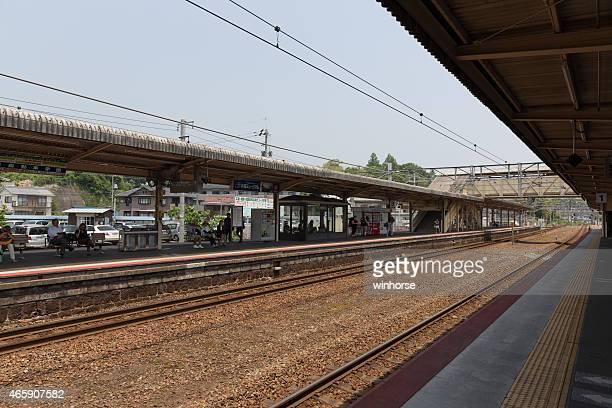 JR Miyajimaguchi 駅である