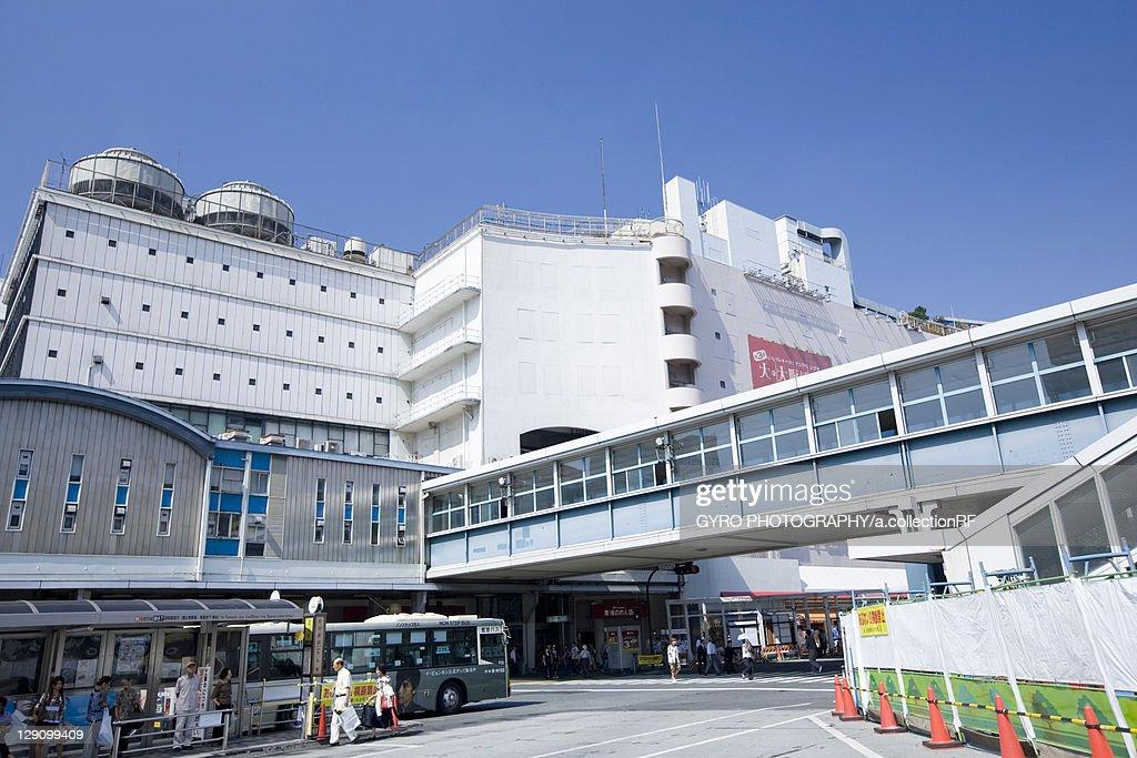 Miyamasuzaka Exit of Shibuya Station