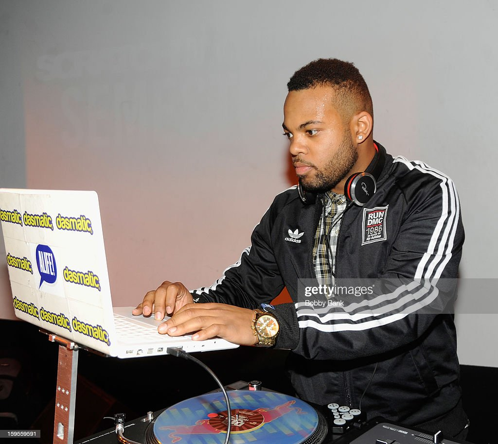 TJ Mizell attends the Scratch DJ Academy Semester 10th Anniversary at Canal Room on January 15, 2013 in New York City.