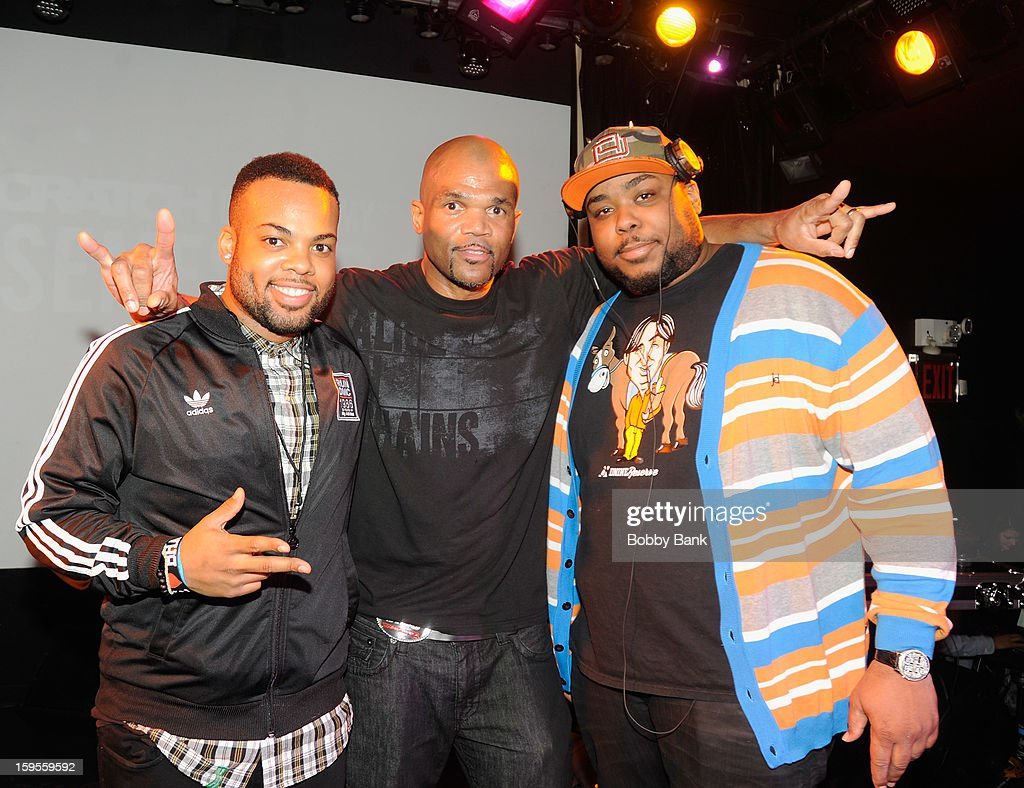 Mizell, Darryl 'D.M.C.' McDaniels and Baby Paul attend the Scratch DJ Academy Semester 10th Anniversary at Canal Room on January 15, 2013 in New York City.