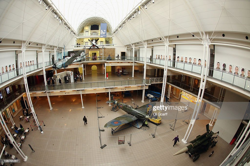 A Mk I Spitfire that had been suspended from the ceiling of the Imperial War Museum prior to being dismantled by Conservation Officers on December 12, 2012 in London, England. The Spitfire entered service in 1938 with No.19 Squadron and flew in the Battle of Britain during the summer and autumn of 1940. It will be conserved and displayed at IWM Duxford whilst IWM London is closed from January 2, 2013 until July 1, 2013 for a major refurbishment.