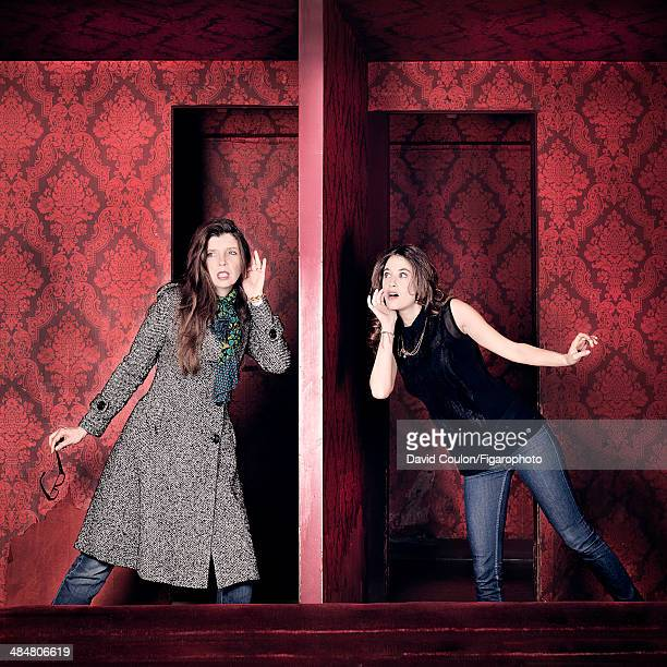 108878004 Mélanie Bernier and Carole Martinez are photographed for Madame Figaro on March 11 2014 in Paris France PUBLISHED IMAGE CREDIT MUST READ...