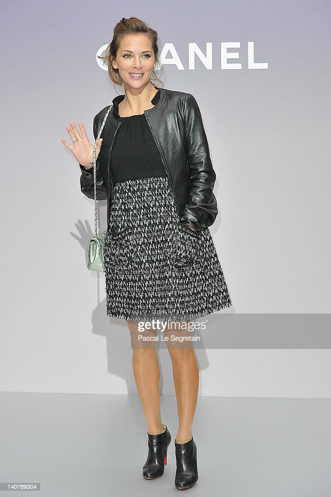 Chanel: Photocall - Paris Fashion Week Womenswear Fall/Winter 2012