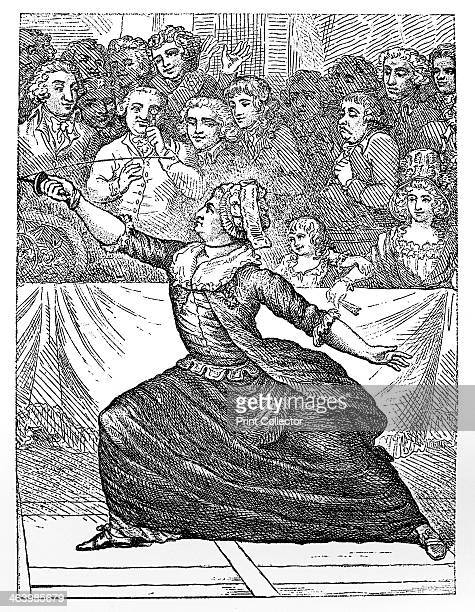 Mlle la Chevaliere d'Eon de Beaumont fencing 18th century CharlesGenevieveLouisAugusteAndreTimothee Eon de Beaumont lived the first half of his life...