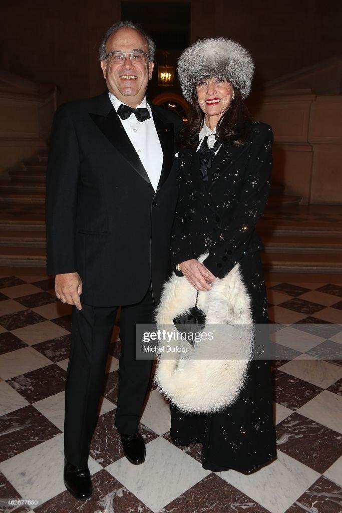 MMe David Khayat attend the David Khayat 'Fondation Avec' Gala Dinner In Versailles on February 2 2015 in Versailles France