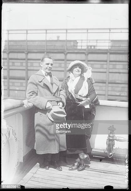 Mme Elly Ney Wilhelm Von Hoogstreaten cnductor of the Lewisohn Stadium