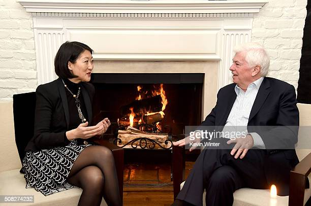 Mme Fleur Pellerin French Minister of Culture and Communications and former US Senator Chris Dodd Chairman and CEO of the Motion Picture Association...