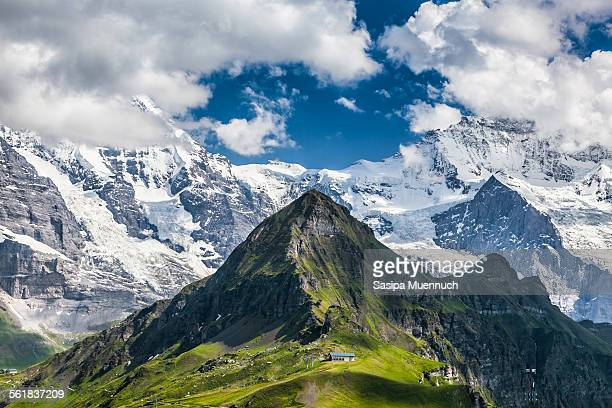 M?nnlichen and the Swiss Alps