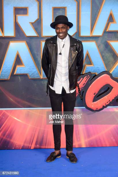 Mo Adeniran attends the European Gala Screening of 'Guardians of the Galaxy Vol 2' at Eventim Apollo on April 24 2017 in London United Kingdom
