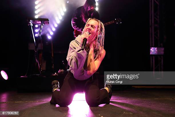 Mo performs at The Roundhouse on October 22 2016 in London England