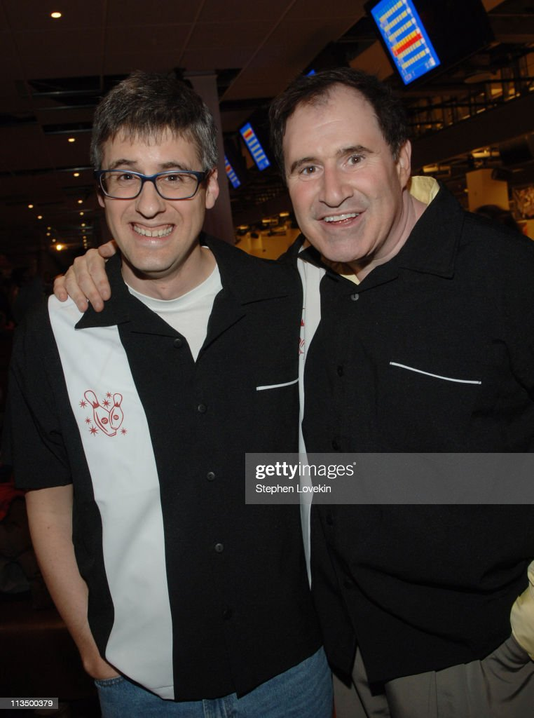 Mo Rocca and Richard Kind during Second Stage Theatre's 20th Annual AllStar Bowling Classic at Leisure Time Bowling Lanes in New York City New York...