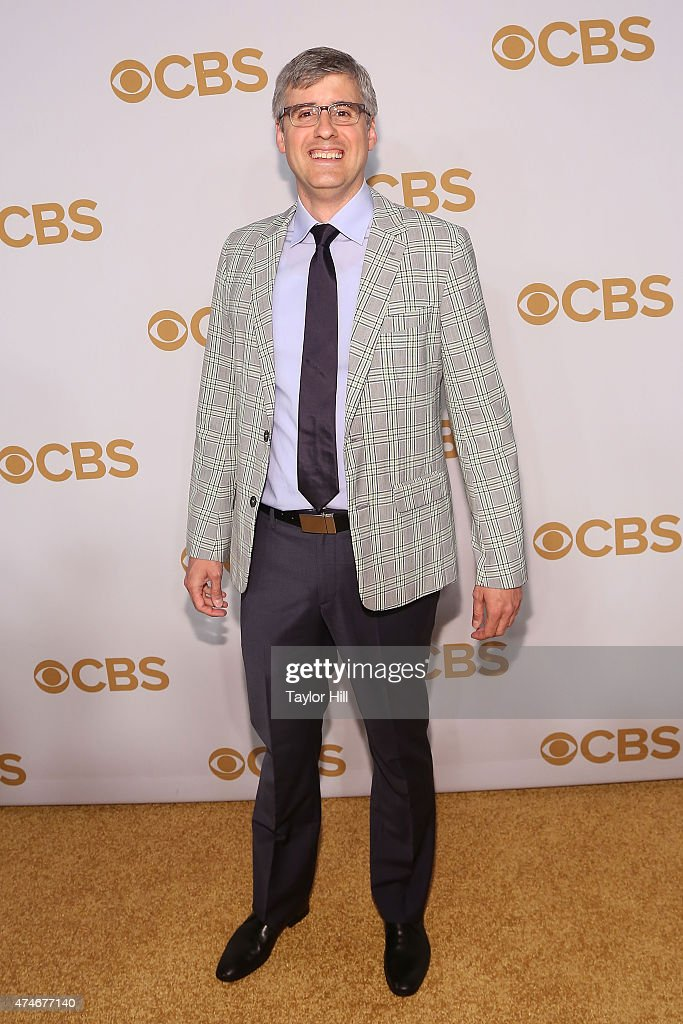Mo Rocca attends the 2015 CBS Upfront at The Tent at Lincoln Center on May 13 2015 in New York City