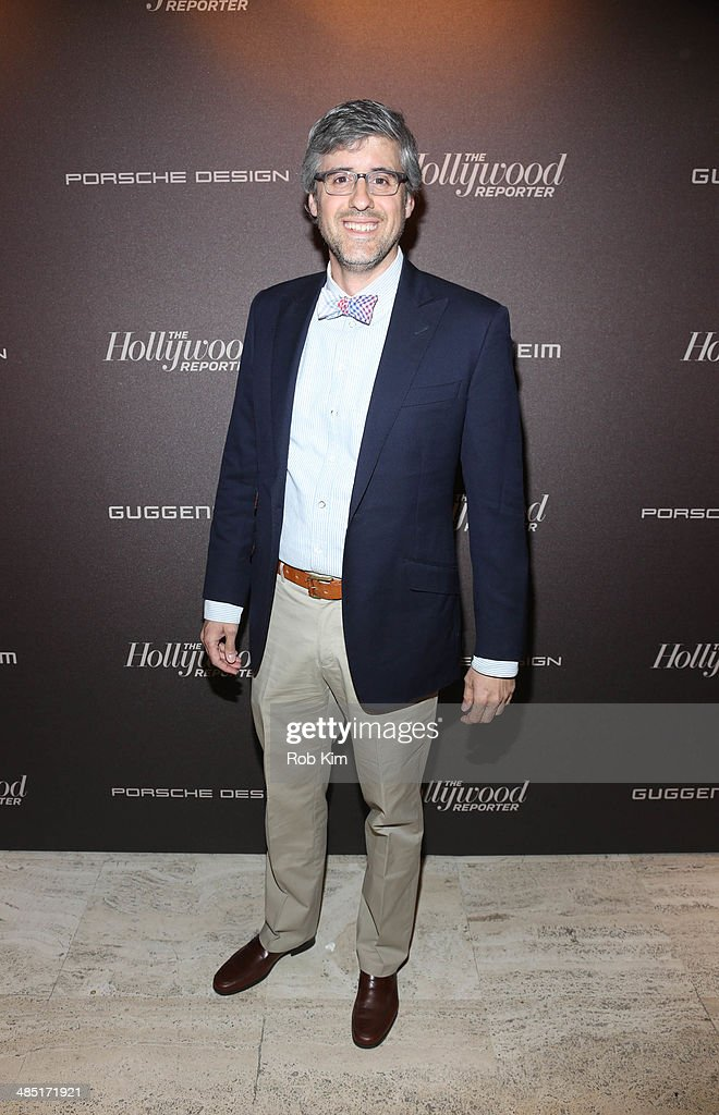 Mo Rocca attends The Hollywood Reporter 35 Most Powerful People In Media Celebration at The Four Seasons Restaurant on April 16 2014 in New York City