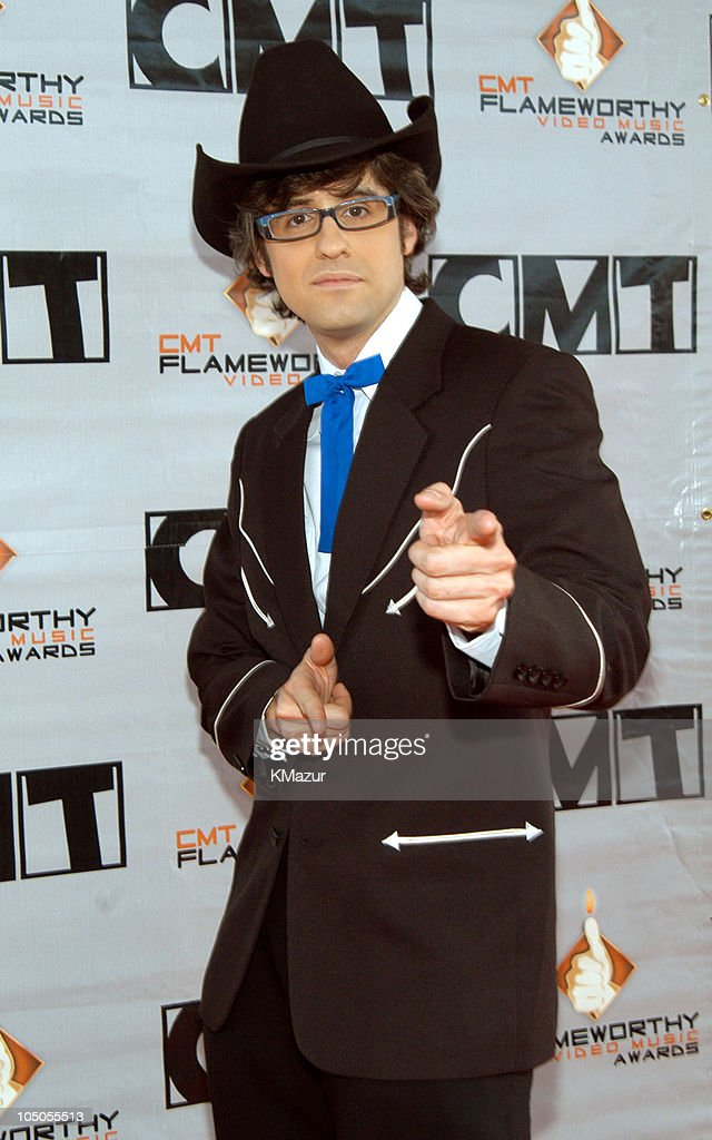 Mo Rocca during 2003 CMT Flameworthy Awards Arrivals at The Gaylord Center in Nashville Tennessee United States