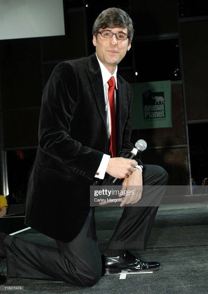 Mo Rocca during Animal Planet Unleashed Fashion Show at Crobar in New York City New York United States