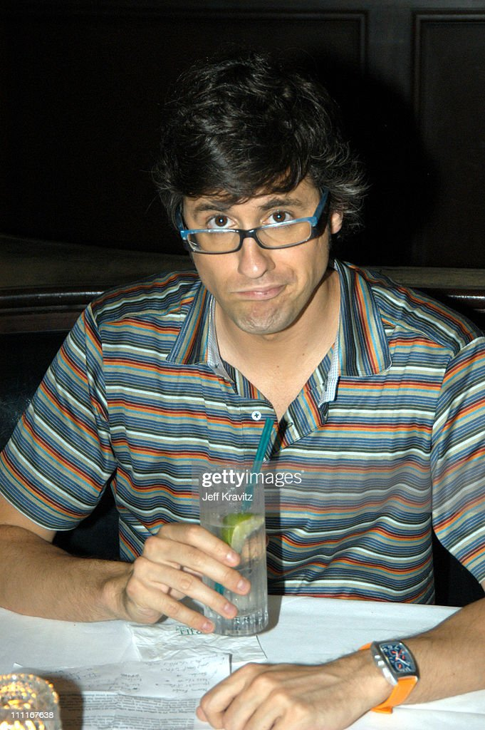 Mo Rocca during CourtTV TCA at Hollywood Renaissance Hotel in Hollywood California United States